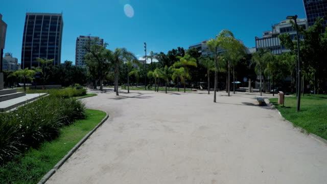 Ipanema square in Rio de Janeiro