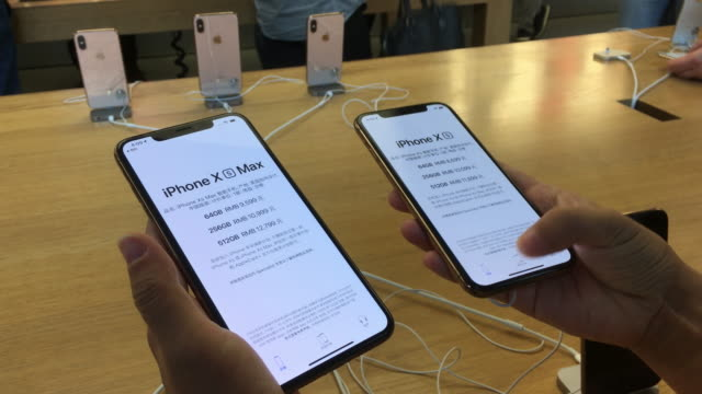 iPhone XS has been on sale in China from Sept 21