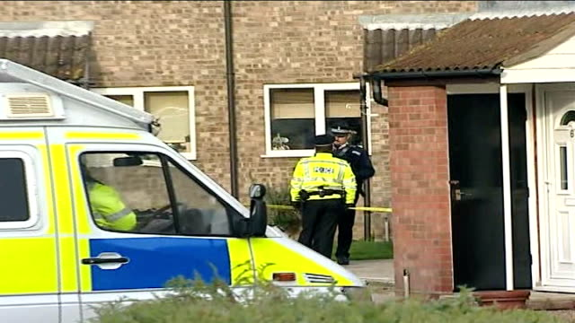 man arrested in connection with murder of five women ENGLAND Suffolk Trimley St Martin EXT Police on duty outside home of Tom Stephens man arrested...