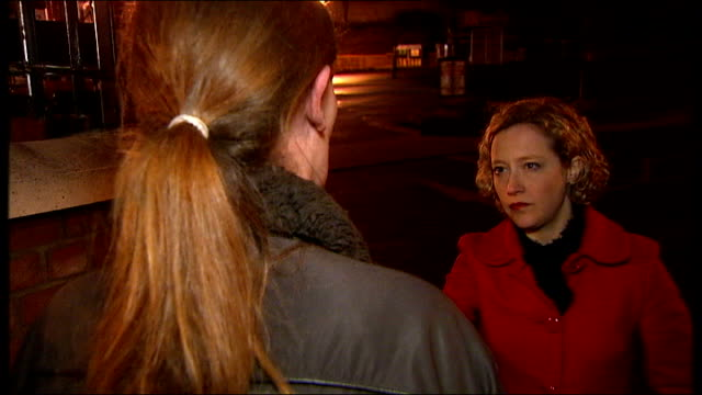 investigation into prostitution and the law prostitute named emma standing on street corner prostitute named emma interview sot didn't want to do it... - bordell stock-videos und b-roll-filmmaterial