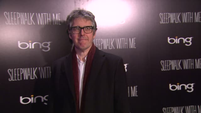ira glass at bing bar sundance 2012 - day 5 in park city, utah, on 1/23/2012 - day 5 stock videos & royalty-free footage
