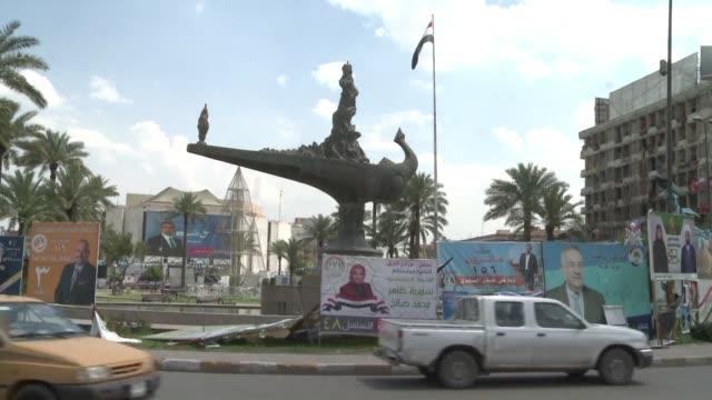 vídeos de stock, filmes e b-roll de irak celebra el sabado las primeras elecciones legislativas en irak desde que fue derrotado el grupo yihadista estado islamico - irak