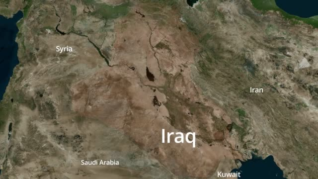 vídeos y material grabado en eventos de stock de iran carried out a ballistic missile attack on two air bases housing us forces in iraq, in retaliation for the us killing of general qasem soleimani.... - venganza