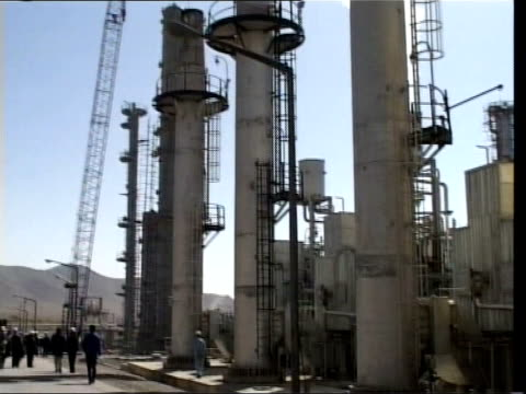 iran nuclear programme: foreign ministers meeting; date unknown iran: various of nuclear plant - nuclear power station stock videos & royalty-free footage