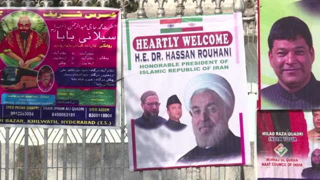 Iran President Hassan Rouhani will offer prayers and address a congregation during Friday prayers at a Hyderabad mosque as part of his ongoing state...