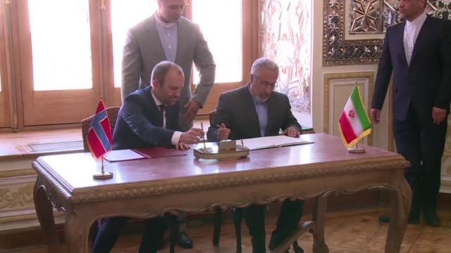 Iran said Wednesday that Norway had offered the Islamic republic a $1billion credit line following a meeting between their foreign ministers in Tehran