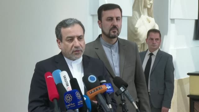 iran says it considers britain's seizure of an iranian oil tanker a breach of the ailing 2015 nuclear deal after the remaining parties to the accord... - combustibile fossile video stock e b–roll