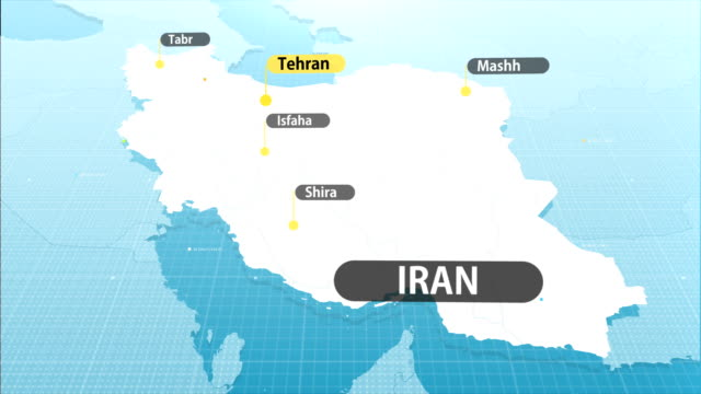 iranian map - iran stock videos & royalty-free footage