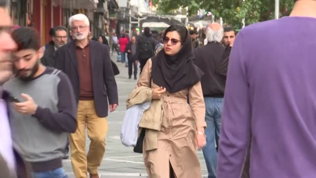 iranian youth say they never had a problem with the united states as the country will mark on the 4th of november the 40 year anniversary of the... - tehran stock videos & royalty-free footage