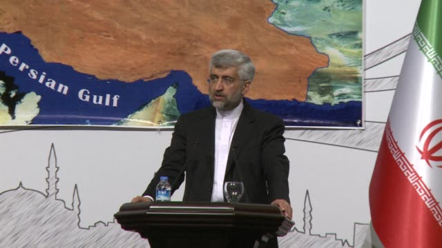 Iran's chief nuclear negotiator welcomes the positive attitude of world powers in a crunch meeting on Saturday which resulted in an agreement for...