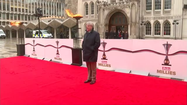 iraq abuse allegations david cameron condemns lawyers who hound veterans england london guildhall ext simon weston photocall as arriving for 2016 sun... - hound stock videos & royalty-free footage
