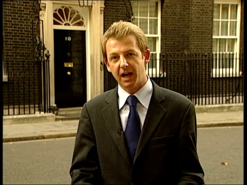 jack straw war doubts 2305 angus walker england london downing street i/c - jack straw stock videos and b-roll footage