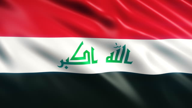 iraq flag - iraqi flag stock videos and b-roll footage