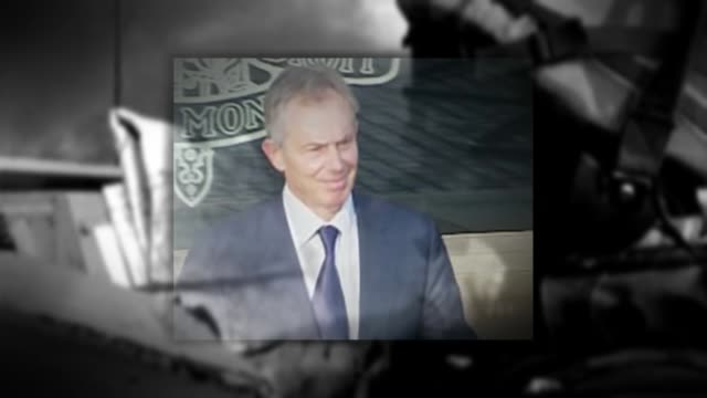 chilcot report to be published in june or july 2016 graphicised sequence british troops in iraq during the iraq war overlaid with people who gave... - jack straw stock videos and b-roll footage