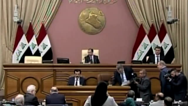iraq parliament session - parliament building stock videos & royalty-free footage