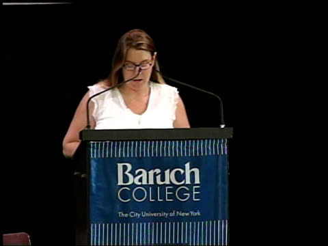 iraq war debate george galloway/christopher hitchens new york baruch college ls galloway and hitchens on stage at iraq war debate audience listening... - christopher hitchens stock videos & royalty-free footage