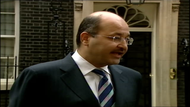 iraqi deputy prime minister statement after talks with tony blair i do believe there is no option for the international community to cut and run the... - significant stock videos & royalty-free footage