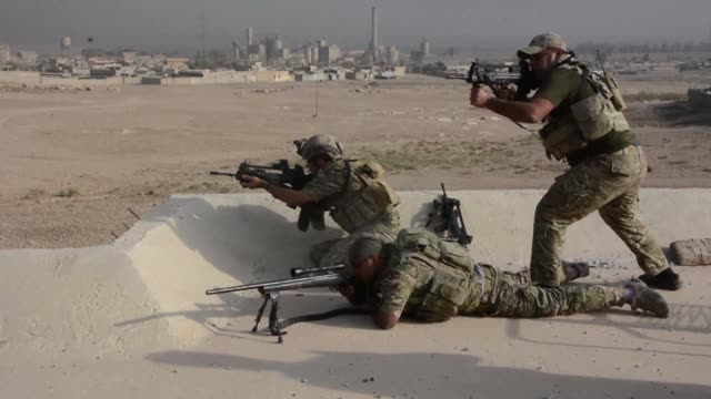 Iraqi forces said on Monday they're getting ready to recapture the village of Albu Saif near Mosul airport still held by the Islamic State group