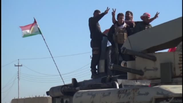 iraqi kurdish leaderas announced the liberation of the town of sinjar from the islamic state group the latest in a series of setbacks for the... - ninawa stock videos & royalty-free footage