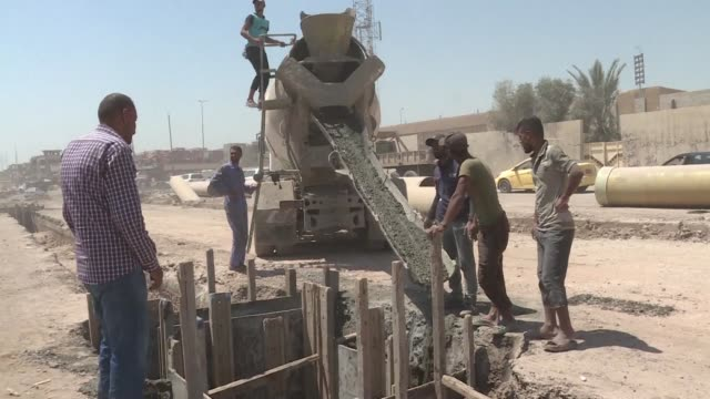 iraqi prime minister haider al abadi on monday declared mosul finally retaken from the islamic state group which seized the city and swathes of other... - rebuilding stock videos & royalty-free footage