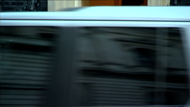 iraqi prime minister haider alabadi at downing street england london downing street photography** iraqi prime minister haider alabadi from car and... - iraqi prime minister stock videos & royalty-free footage