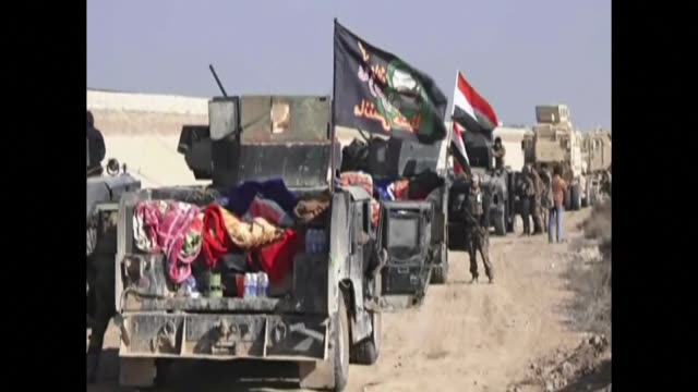 Iraqi pro government forces advanced in the al Aramil area on Tuesday south of Anbar provinces capital Ramadi in a push to retake the city they lost...