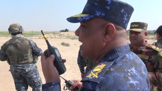 iraqi security forces launched terror operations against daesh, also known isis, in rural areas of kirkuk, saladdin and diyala on september 24. this... - mountain stock videos & royalty-free footage