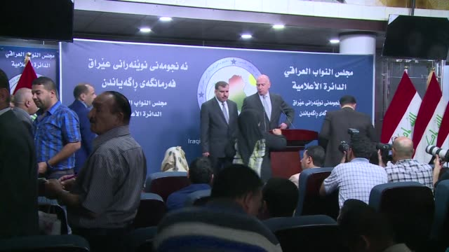 iraqs fractious parliament met on sunday and again failed to make any progress toward forming a new government as militants gained ground north of... - baghdad stock videos & royalty-free footage