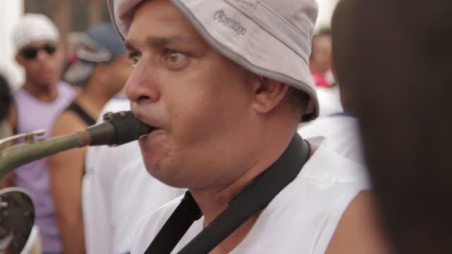 vidéos et rushes de irara lavagem festival - musicien
