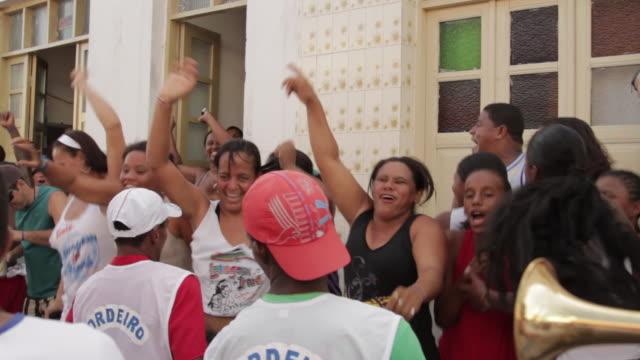vídeos y material grabado en eventos de stock de irara lavagem festival - américa del sur