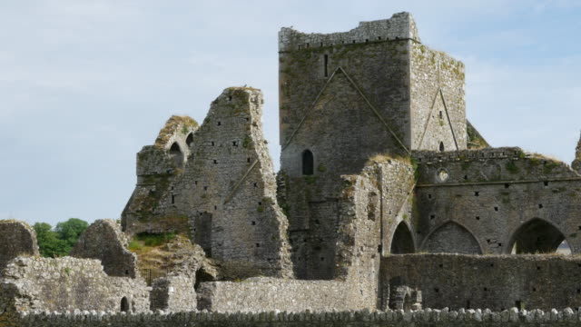 Ireland Cashel Hore Abbey ruined tower