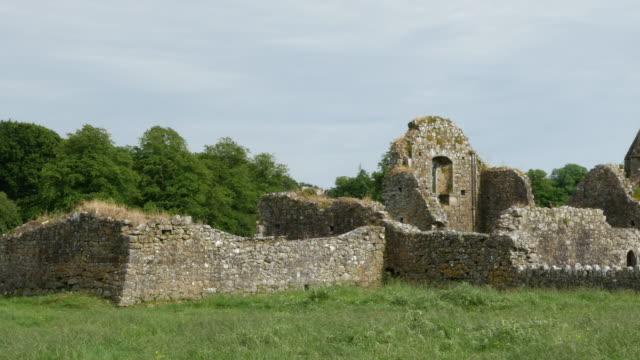 Ireland Cashel Hore Abbey ruined walls