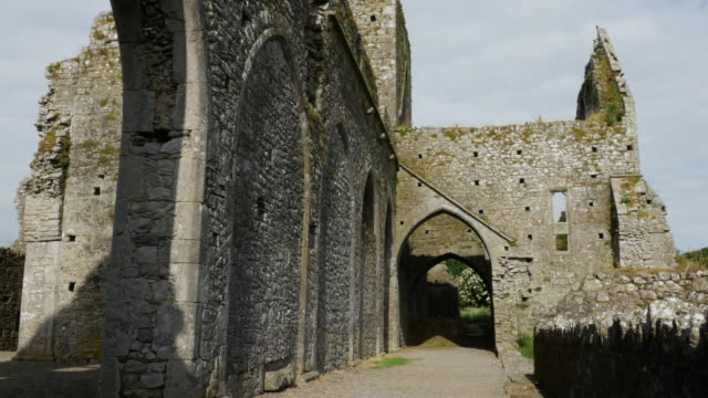 Ireland Cashel Hore Abbey side view of ruins