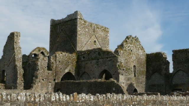 Ireland Cashel Hore Abbey view of ruins zoom out