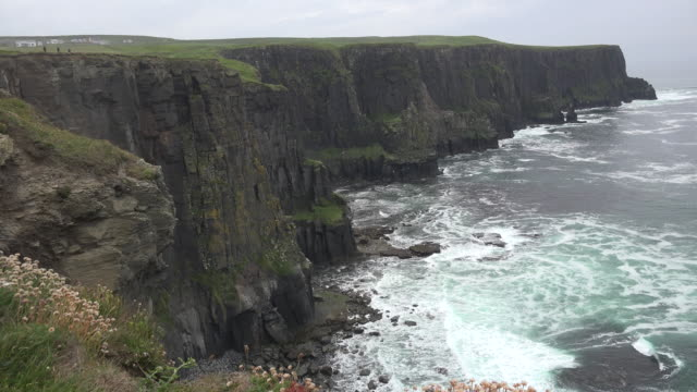 Ireland County Clare Cliffs of Moher dramatic view