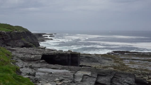Ireland County Clare rugged coast near Cliffs of Moher