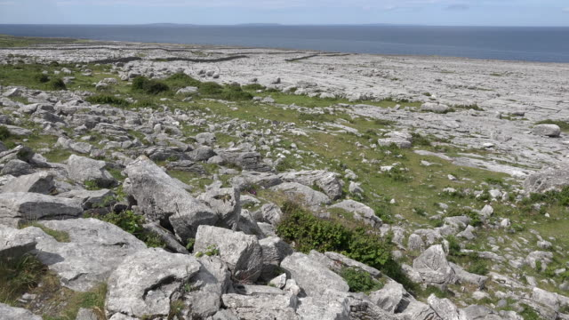 Ireland County Clare the Burren at Black Head on the Wild Atlantic Way