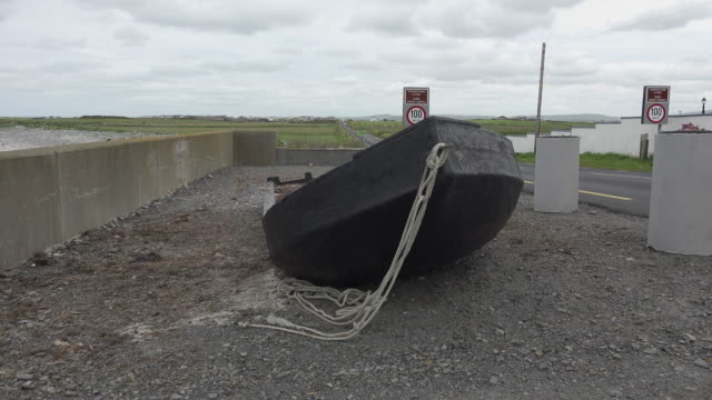 Ireland County Clare traditional boat