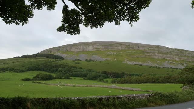 ireland county sligo knocknarea a limestone hill - beauty queen stock videos and b-roll footage