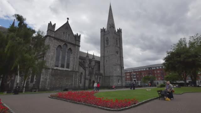 Ireland Dublin Saint Patricks Cathedral and gardens