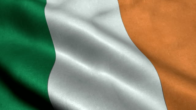ireland flag - flag stock videos & royalty-free footage