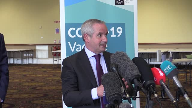 ireland is on course to receive almost four million vaccine doses in the next three months, marking a significant boost in supply. taoiseach micheal... - 12 17 months stock videos & royalty-free footage