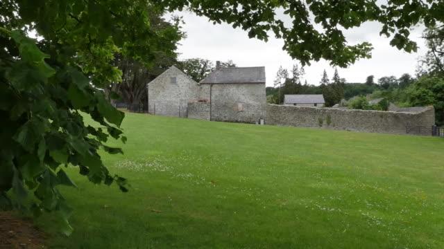 Ireland old farm on Boyne River