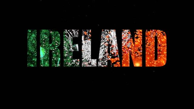 vidéos et rushes de irlande. - lettre de l'alphabet