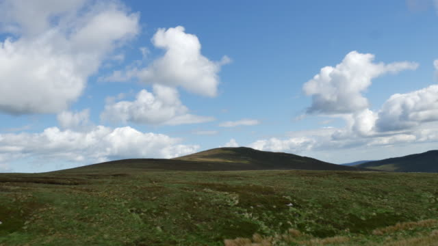 ireland wicklow mountains - 荒野点の映像素材/bロール