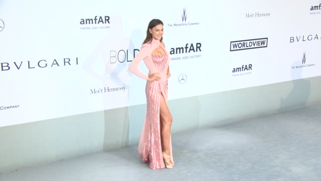 irina shayk at amfar red carpet at hotel du cap-eden-roc on may 22, 2014 in cap d'antibes, france. - cannes stock videos & royalty-free footage