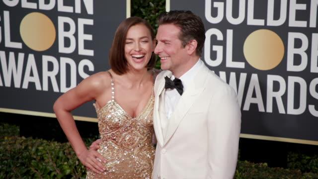 Irina Shayk Bradley Cooper at the 76th Annual Golden Globe Awards Arrivals