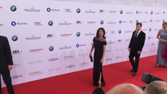 Iris Berben the Lola German Film Award at Messe Berlin on May 27 2016 in Berlin Germany