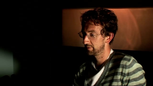 irish film 'once' released int john carney interview sot on praise from steven spielberg and responsibility towards following up success / at the end... - steven spielberg stock videos & royalty-free footage