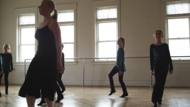 irish folk dancers - springville utah stock videos & royalty-free footage